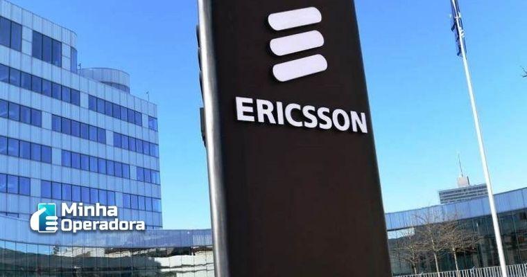 Fachada da Ericsson.