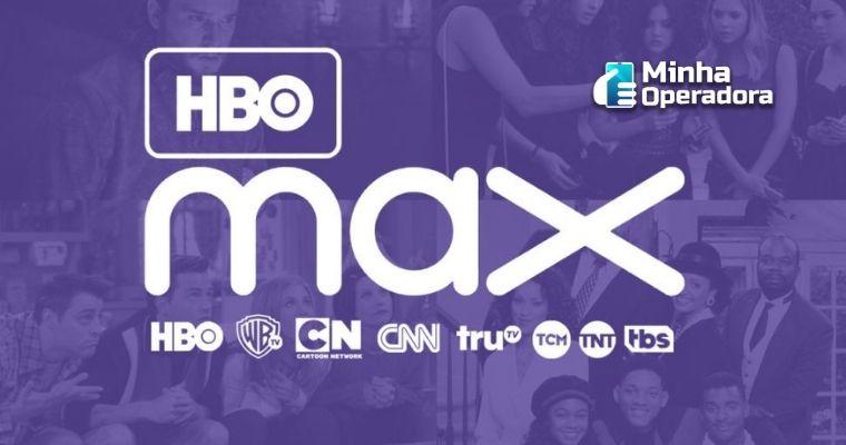 Logotipo do HBO Max.