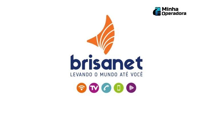Logomarca da telecom Brisanet